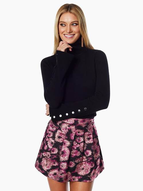 Ramy Brook | Della Floral Mini Skirt