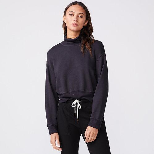 Monrow | Mock Neck Slouchy Sweatshirt