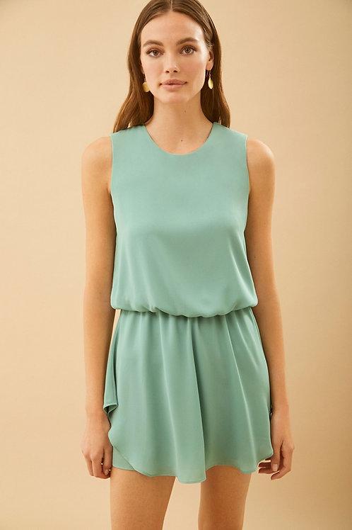 Krisa | Layered Skirt Mini Dress