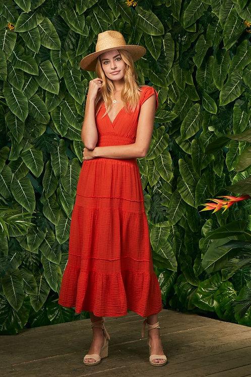 Felicite | Smocked Midi Dress