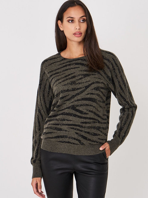 Repeat Cashmere | Cashmere Tiger Sweater