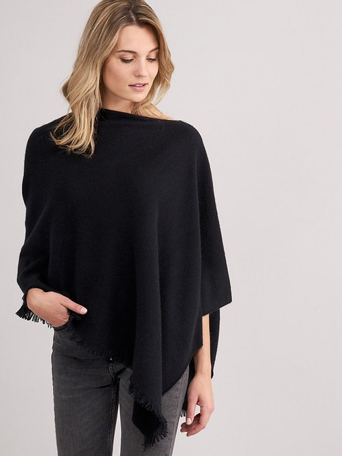 Repeat Cashmere | Asymmetrical Cashmere Poncho