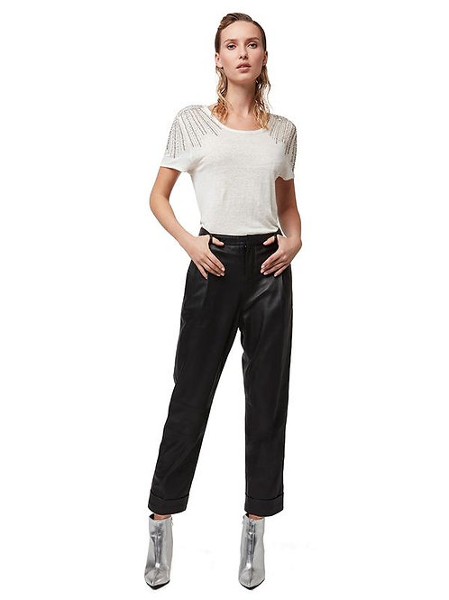 AS by DF | Bianca Leather Trousers