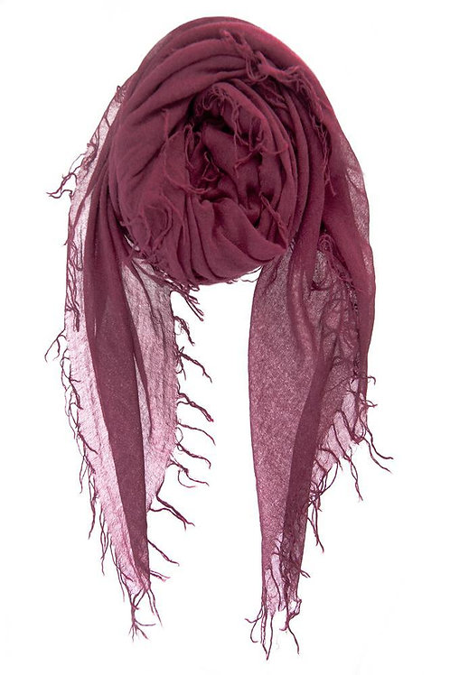Chan Luu | Solid Color Cashmere Silk Scarf