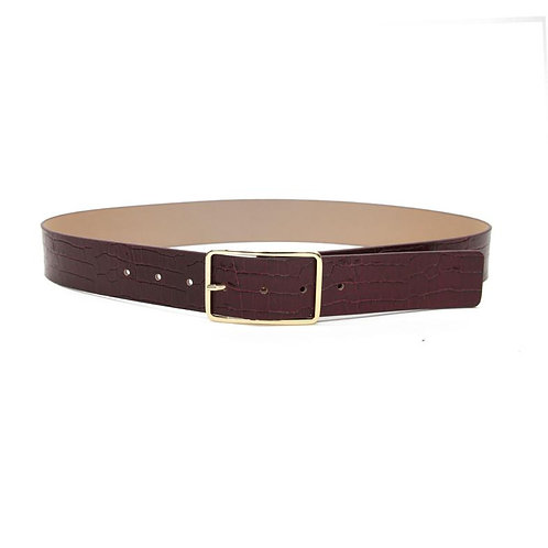 B-Low the Belt | Milla Croco Belt