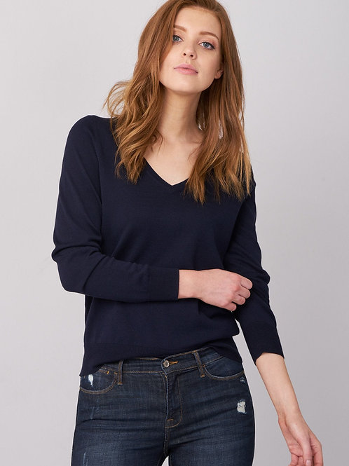 Repeat Cashmere | Basic V Neck Sweater