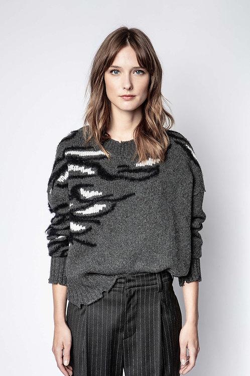 Zadig & Voltaire | Starry Brod Tiger Sweater