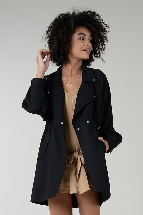 Molly Bracken | Mid Length Trench Coat