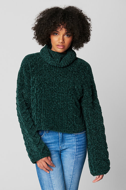 Blank NYC | Chenille Turtleneck Sweater