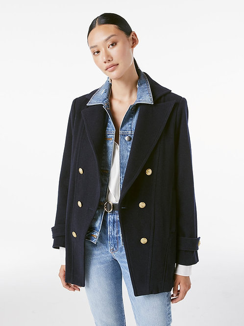 Frame | Denim Mix Peacoat