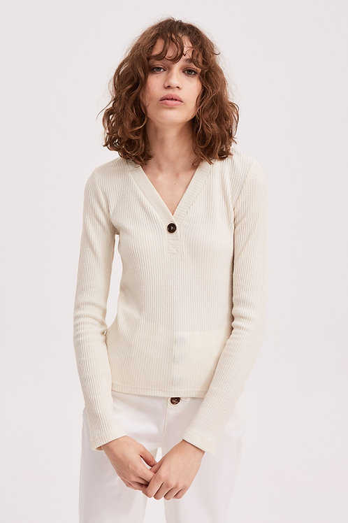 The Fifth Label | Tonal Long Sleeve Top