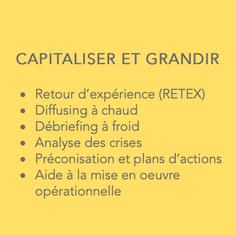 CAPITALISER ET GRANDIR
