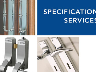 WHY CHOOSE TO HAVE A SPILLER IRONMONGERY SCHEDULE?
