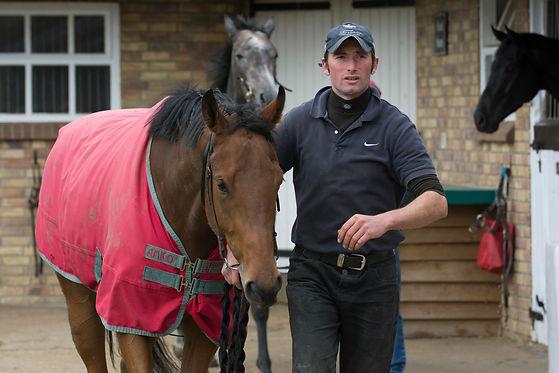 Richard Morgan-Evans Racing Pre-Training racehorse rehabilitation sales preparation and yearling breaking Newmarket