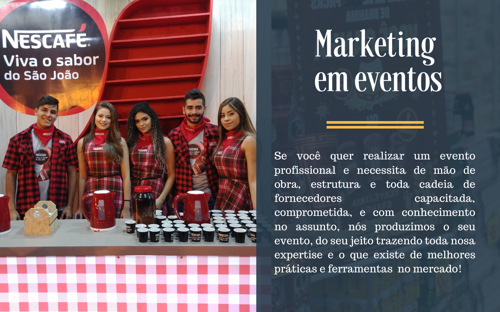 Marketing em Eventos