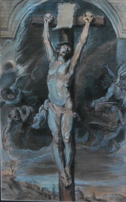 Crucifixtion after Rubens 2015-9-25-16:25:51