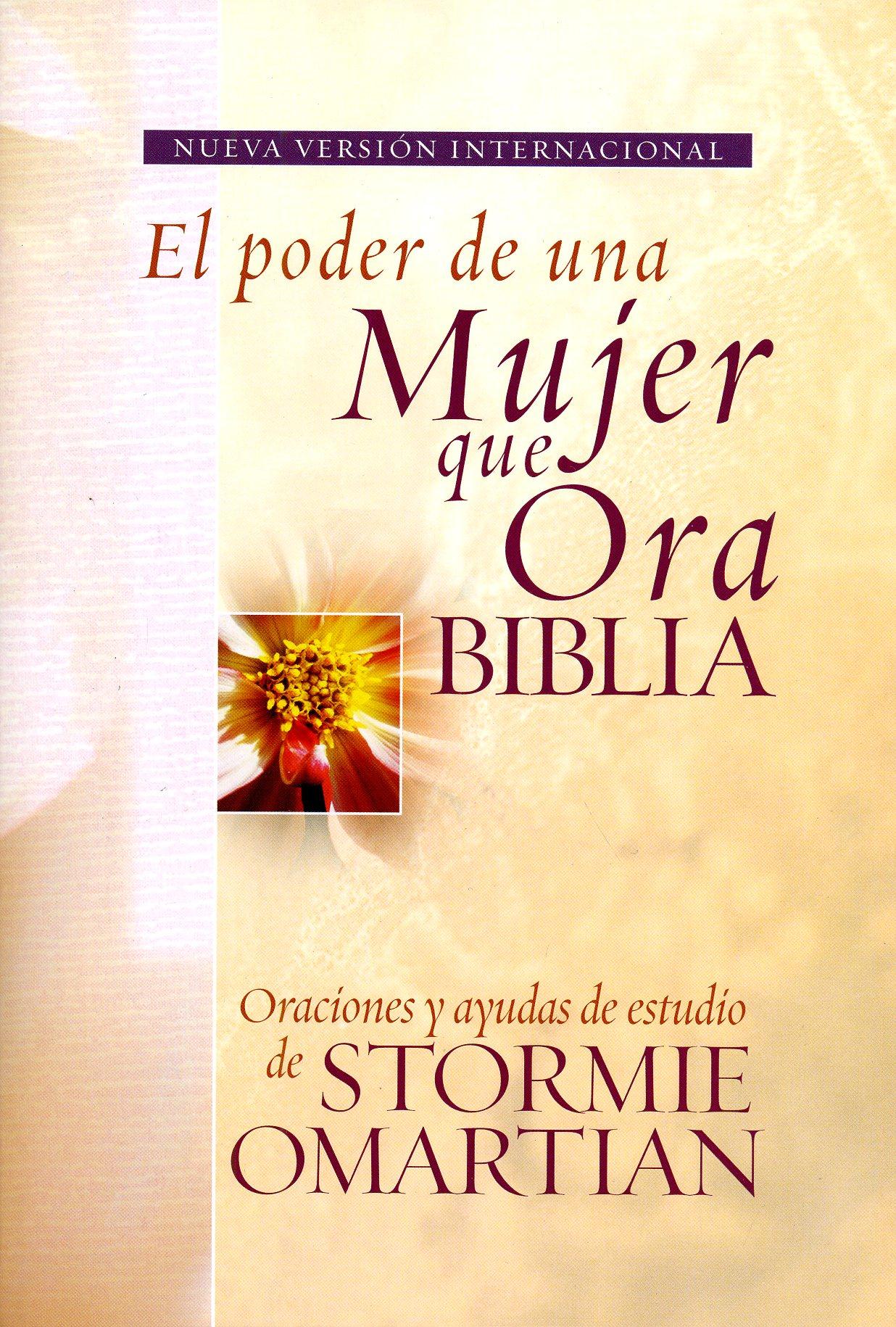 Biblia El poder de una mujer que Ora