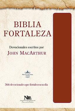 Biblia Fortaleza - John MacArthur - Marrón