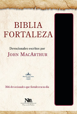 Biblia Fortaleza - John MacArthur - Negro