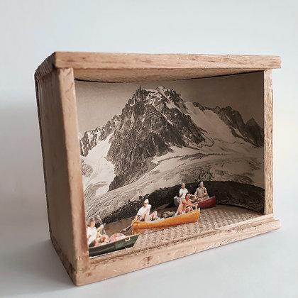 Portalet et Glacier d'Orny