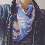Tonic of Wilderness slik neck scarf, limited edition