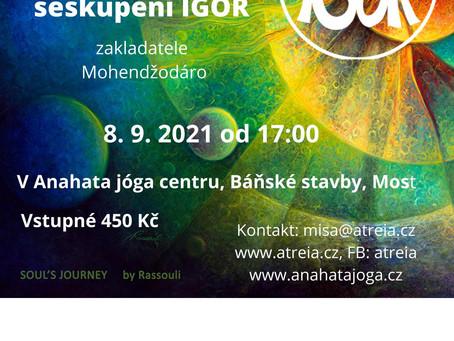 Mystický koncert posvátné hudby seskupení IGOR