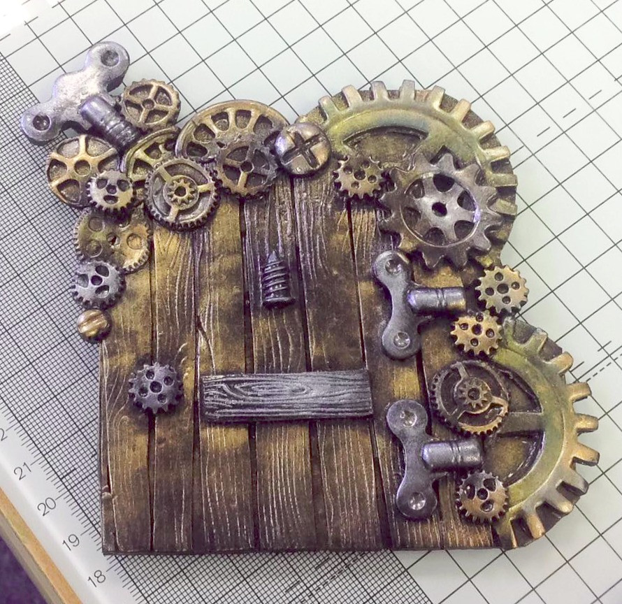 Steam Punk Fairy Door by a member of the East Midlands group