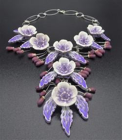 Winter Bridal Necklace (AA Winner)