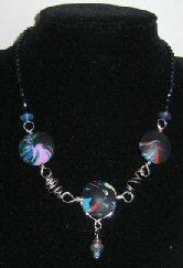 Mum's swirly pendant