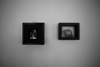 Lea Jazbec. Research. Filter. Sphere/Eye.   Mixed media.  2012