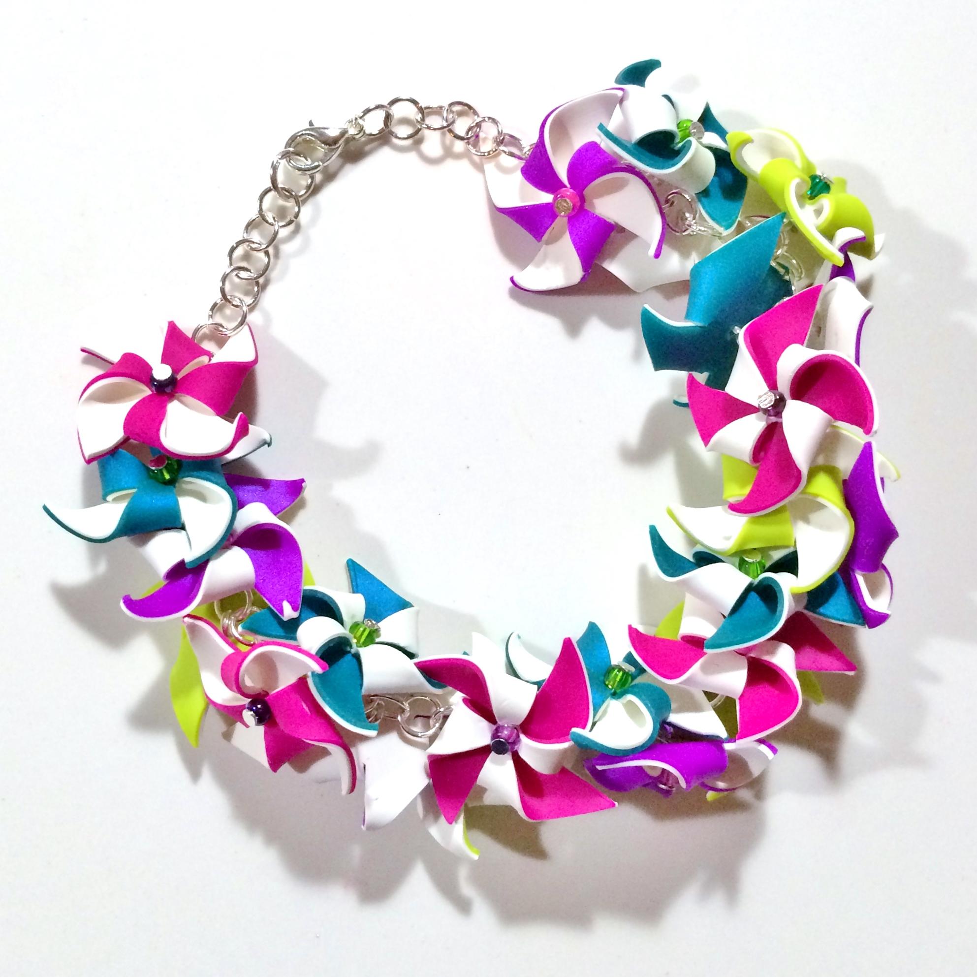 Pinwheel Party Bracelet