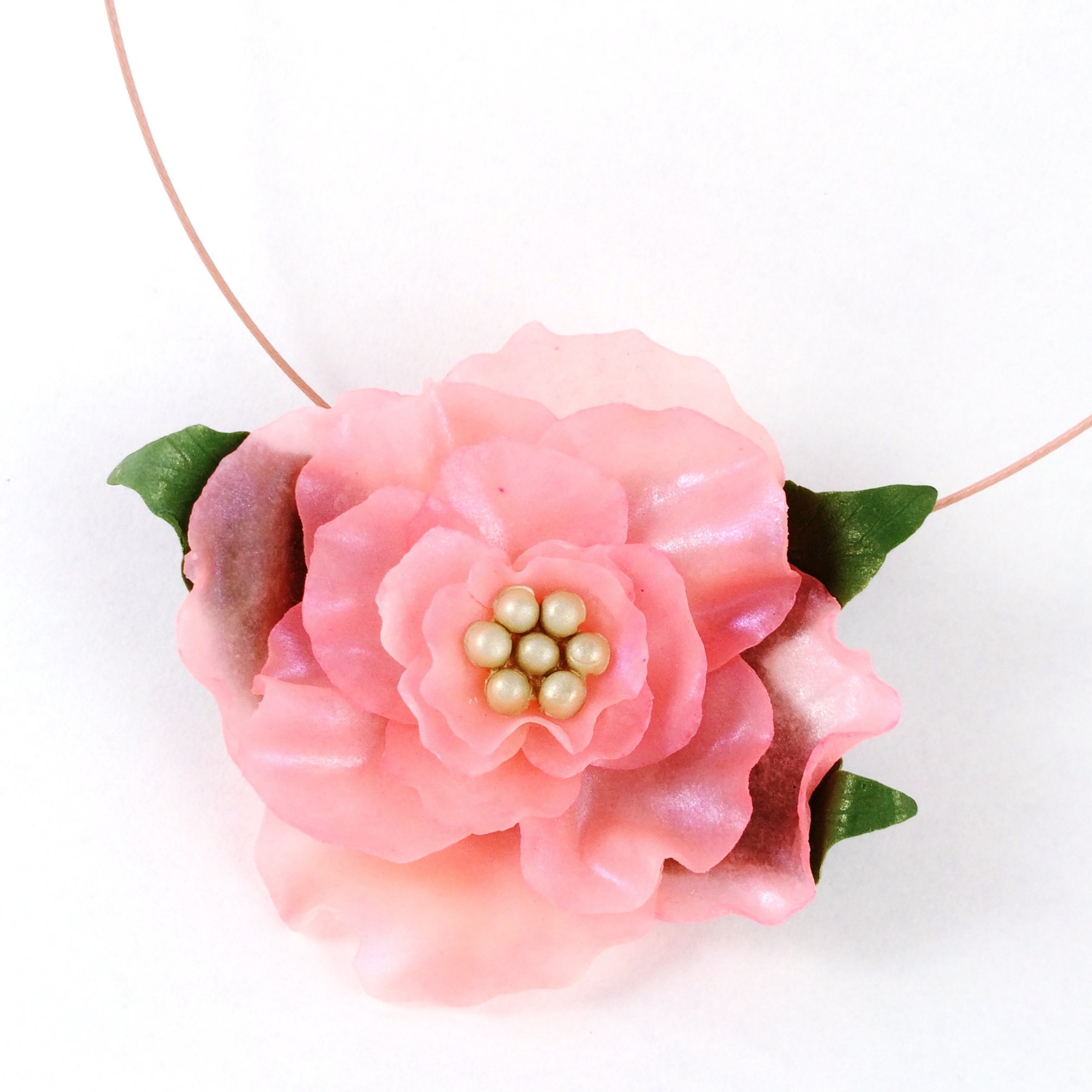 Blooming Lovely Brooch-Necklace
