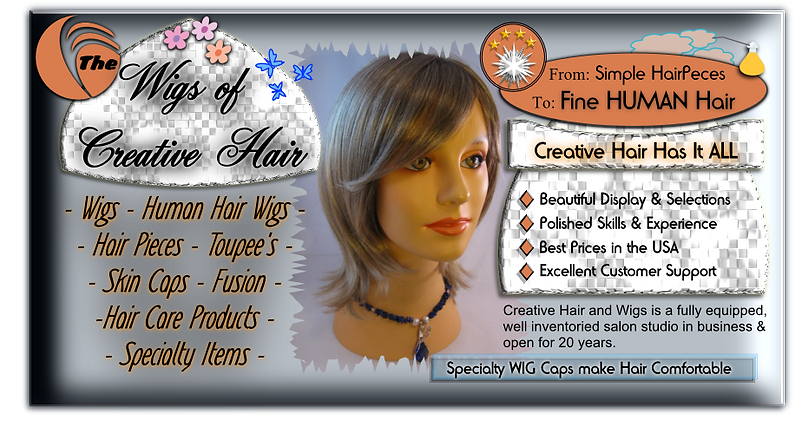 wigs of creative hair title image