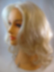 wig photo of blond hair