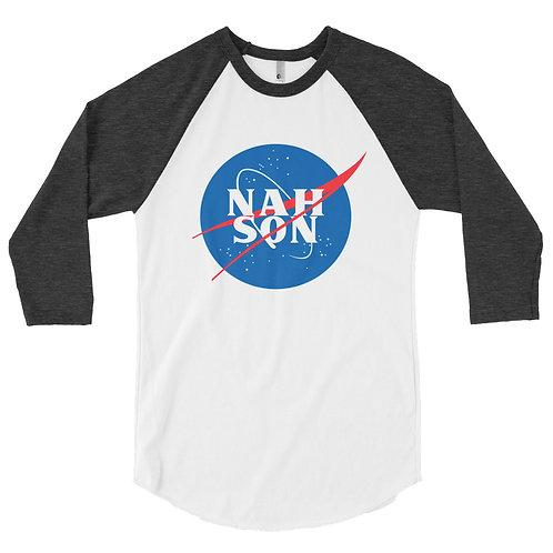 Nah Son Men's 3/4 sleeve raglan shirt