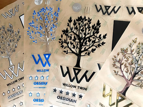 2020 Willow Twin Stickers