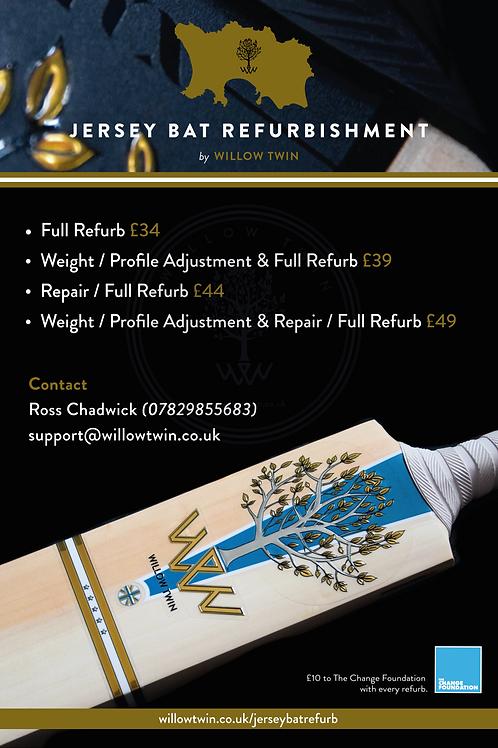 Jersey Bat Refurbishment