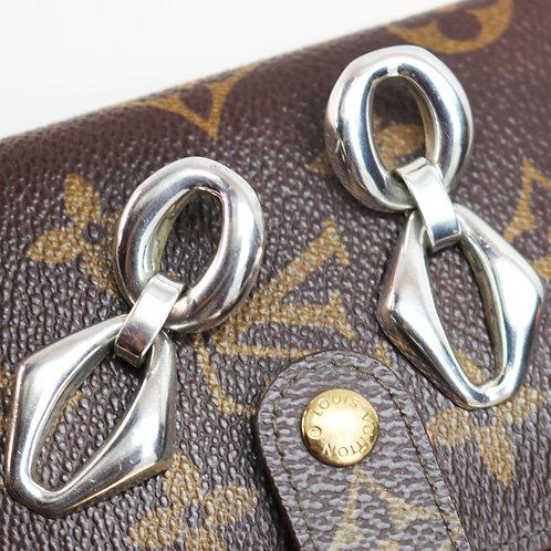 Sterling Silver Doorknocker Earrings