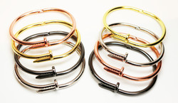 Cartier Style Nail Bracelets