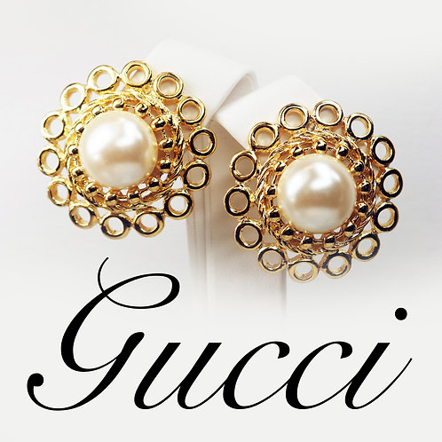 ⚜️ Gorgeous Vintage PAOLO GUCCI Earrings