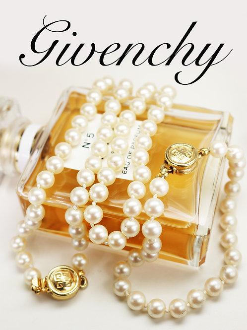 ⚜️ Vintage GIVENCHY Logo Pearl Bracelet & Necklace