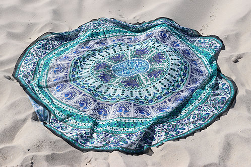 Stylish Bohemian Beach Throw, Cover & Tablecloth in One