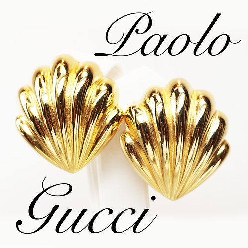 ⚜️ Gorgeous Vintage PAOLO GUCCI Seashell Earrings