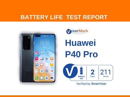 Huawei P40 Pro ViserMark Battery Life