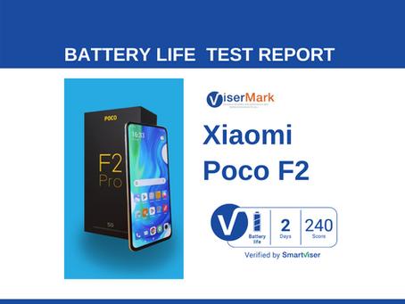 Pocophone Poco F2 Pro  ViserMark Battery Life