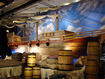 Pirates of the Caribbean themed party
