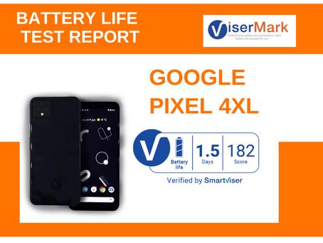 Google Pixel 4XL ViserMark Battery Life