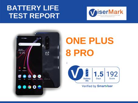 OnePlus 8Pro ViserMark Battery Life