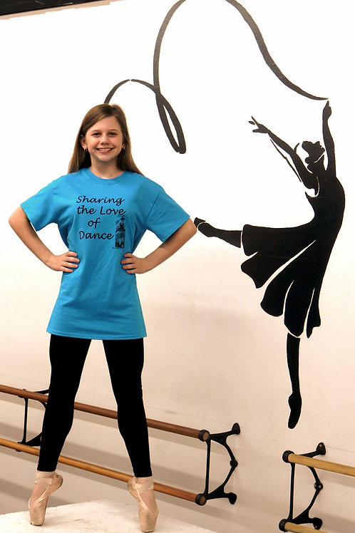 Sharing the Love of Dance T-Shirts Adult