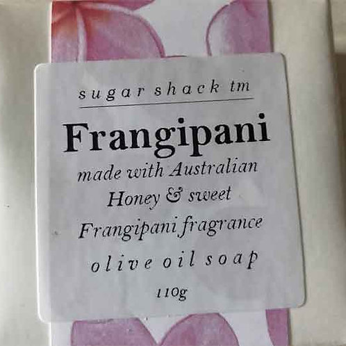 Frangipani & Honey 110gm